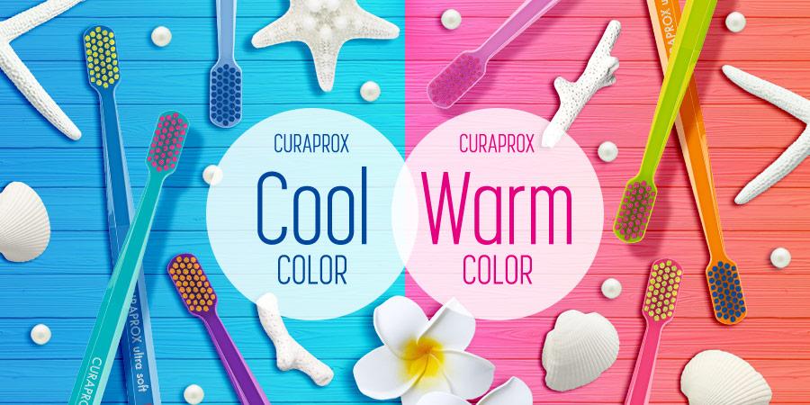 CURAPROX Cool COLOR CURAPROX Warm COLOR